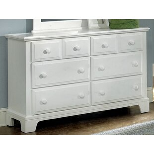 Cedar Drive 6 Drawer Double Dresser