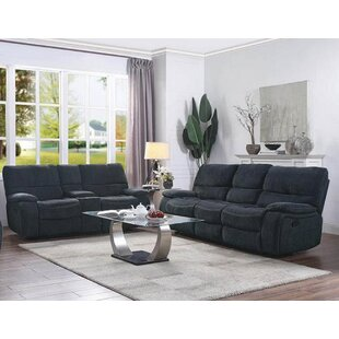 Eneas Motion 2 Piece Reclining Living Room Set by Latitude Run