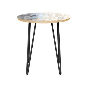 Bungalow Rose Priestly End Table