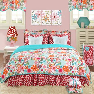 Swinney 100% Cotton 8 Piece Reversible Quilt Set