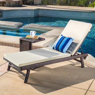 Witte 2 Piece Chaise Lounge Set