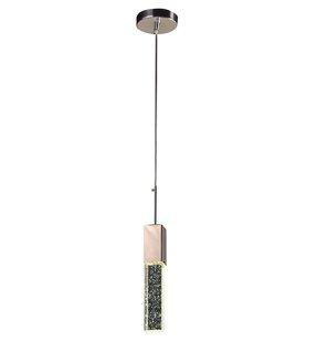 Orren Ellis Munson 1-Light Square/Rectangle Pendant