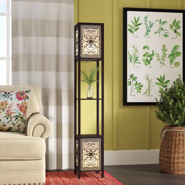 Fleur De Lis Living Telfair 64 Column Floor Lamp Reviews Wayfair