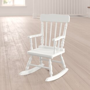 Winter Victoria Kids Rocking Chair by Viv + Rae