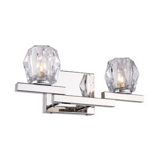 Reviews Haslemere Bath 2-Light Vanity Light By House of Hampton
