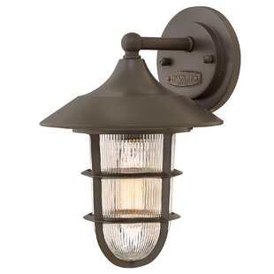 Affordable Price Washer Outdoor Wall Lantern By Breakwater Bay