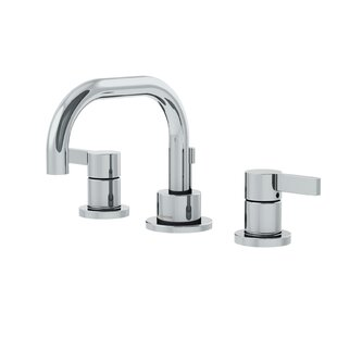 Symmons Dia Low Spout Widespread Standard Bathroom Faucet Double Blade Handle