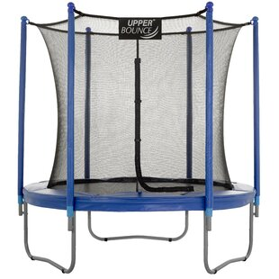 Upper Bounce 7.5' Round Trampoline with Safety Enclosure