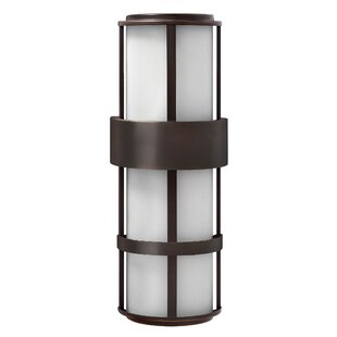 Price comparison Saturn 2-Light Outdoor Sconce By Hinkley Lighting