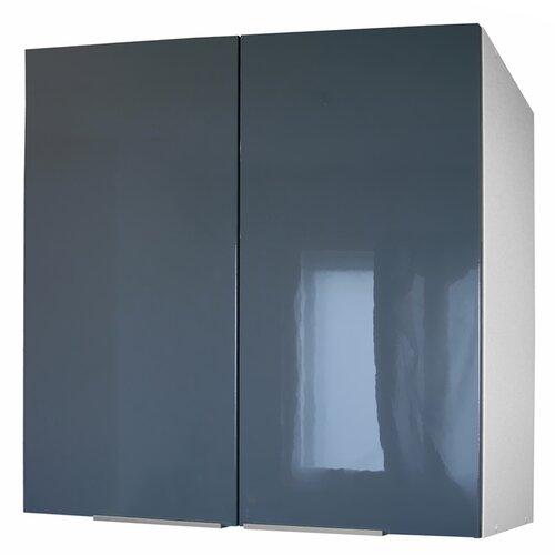 Küchenhängeschrank | Küche und Esszimmer > Küchenschränke > Küchen-Hängeschränke | Schwarz/braun/weiß | Spanplatte | Hokku Designs