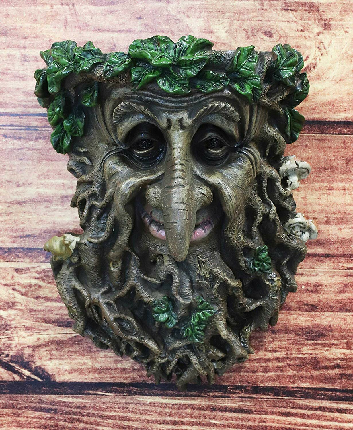 Celtic medieval Green Man wall hanging table cloth Pagan colourful gift art
