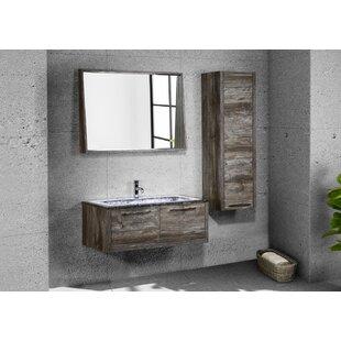 Pruett 17.72 W x 49.21 H Wall Mounted Cabinet by Brayden Studio