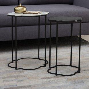 Hetzel 2 Piece Nesting Tables By Brayden Studio