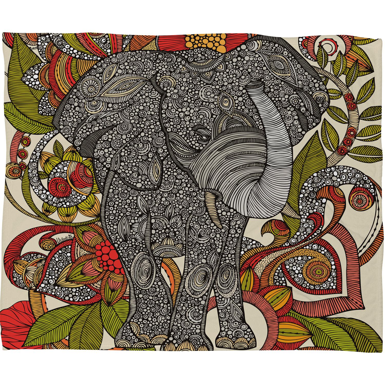 East Urban Home Bo The Elephant Throw Blanket