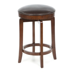 Bruzovice 25 Swivel Bar Stool Latitude Run
