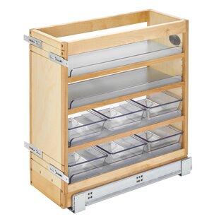 Rev-A-Shelf Wood Vanity Base Organizer Pull Out Drawer