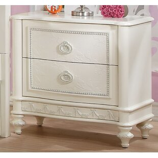 Price Check Apeton 2 Drawer Nightstand by Harriet Bee Reviews (2019) & Buyer's Guide