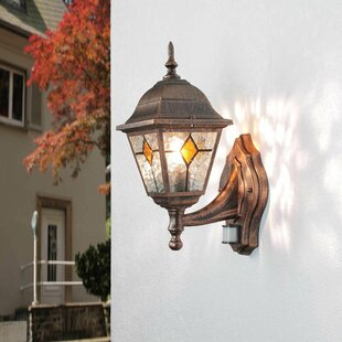 Jacey Outdoor Lantern With PIR Sensor By Sol 72 Outdoor