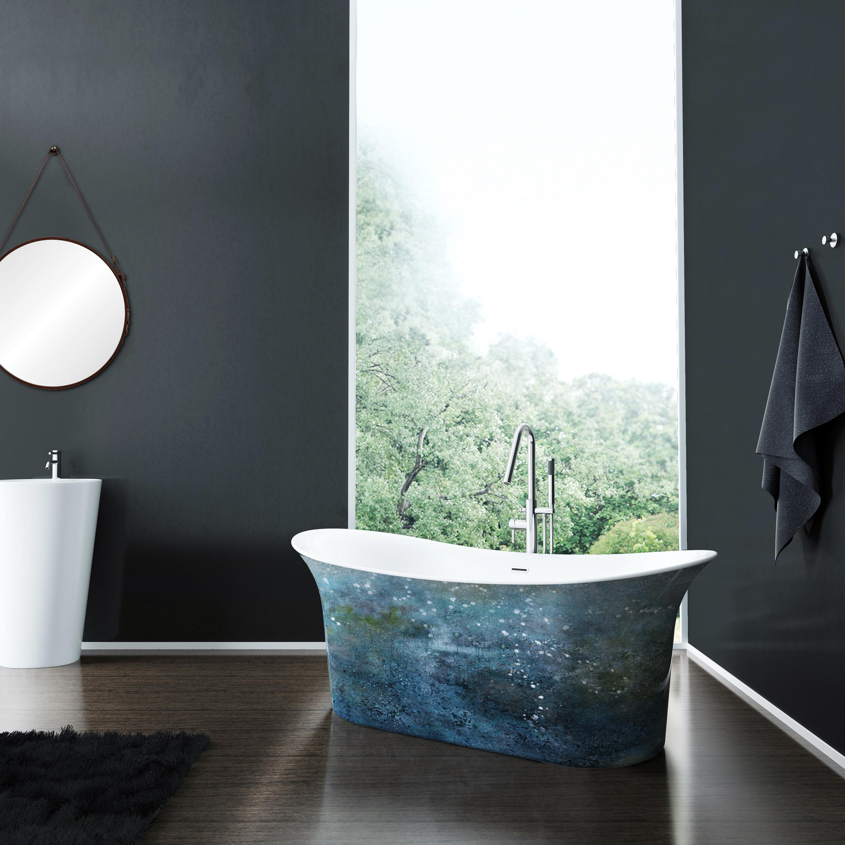 Cyclone 67 X 27 Freestanding Soaking Bathtub