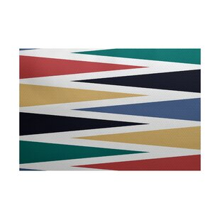 Boubacar Backgammon Indoor/Outdoor Area Rug