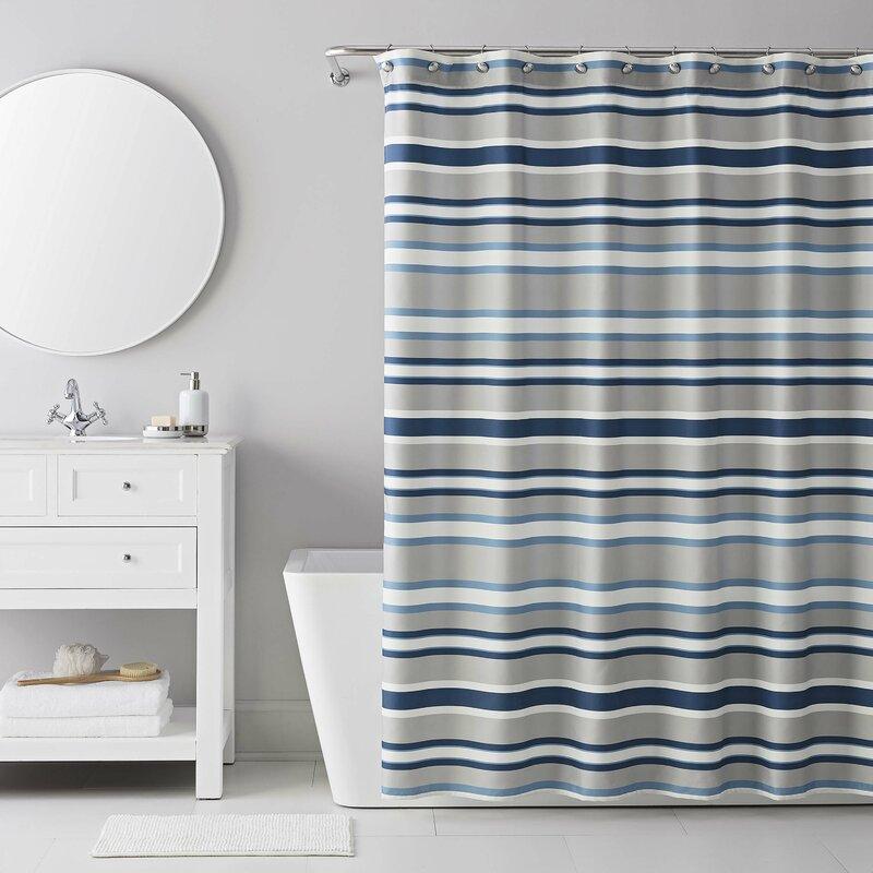 13 Piece Bradley Stripe Shower Curtain Set Reviews