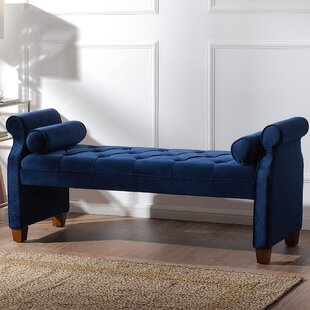 Look for Belby Upholstered Bench By Everly Quinn