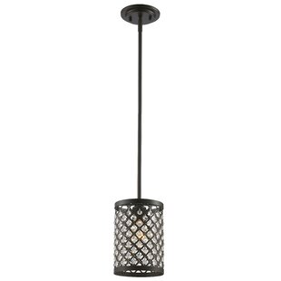 Willa Arlo Interiors Senters 1-Light Cylinder Pendant