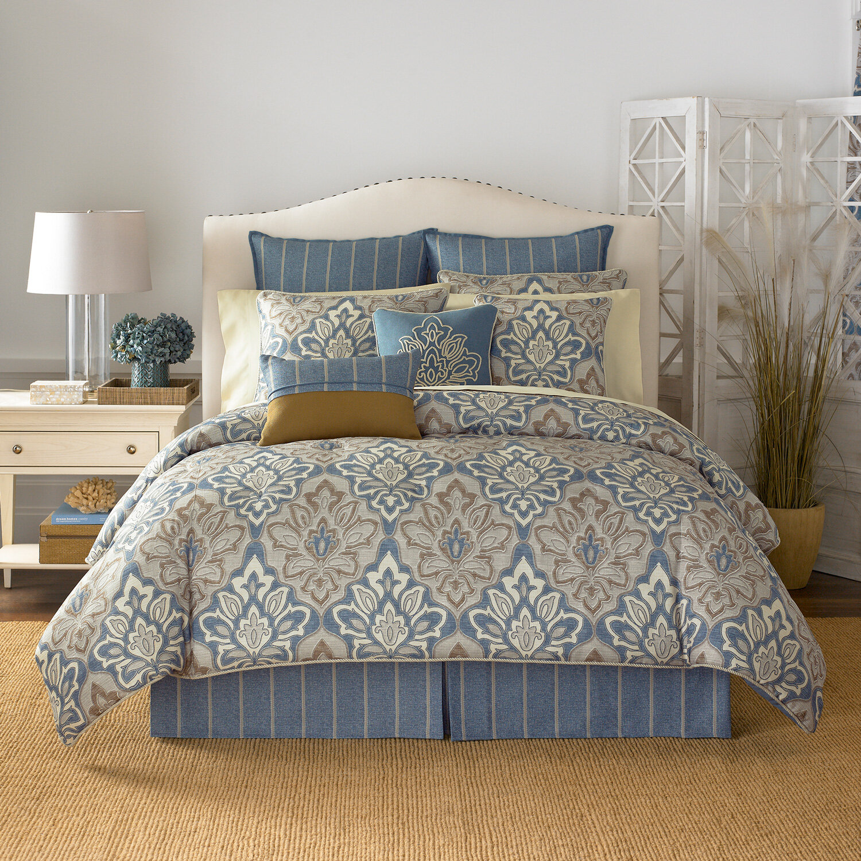 Living Quarters Washcloths: Croscill Captain's Quarters Comforter Collection & Reviews