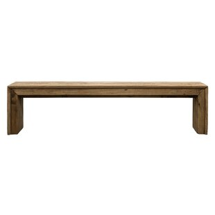 Aliso Wood Bench By Union Rustic