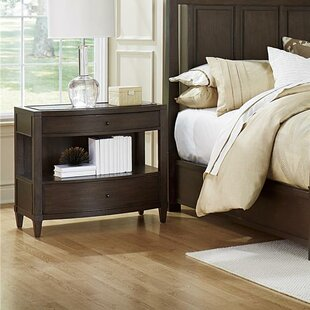 Textures Asher 2 Drawer Nightstand by Fine Furniture Design