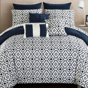 Sabrina 10 Piece Reversible Comforter Set