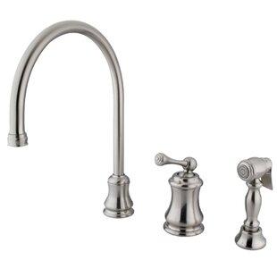 Kingston Brass Restoration Single Handle Kitchen Faucet
