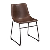 Irving Upholstered Side Chair in Brown (Set of 2) by Foundstone™