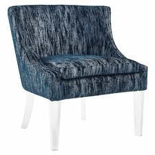 henriques velvet chair - Blue Velvet Chair