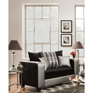 Belington Shimmer Loveseat by Latitude Run