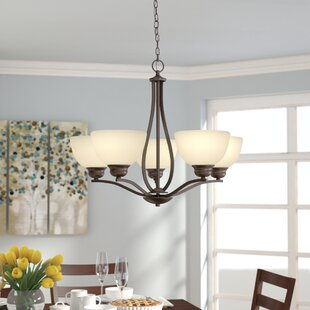 Hultgren 5-Light Shaded Chandelier