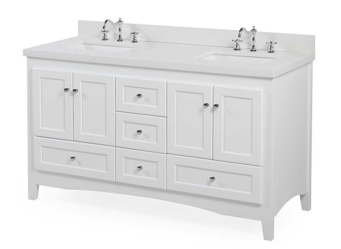 Abbey kitchens and bathrooms - Abbey 60 Double Bathroom Vanity Set