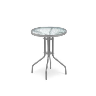 Alfuin Steel Bistro Table By Sol 72 Outdoor