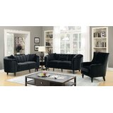 Onondaga 3 Piece Standard Configurable Living Room Set by Rosdorf Park