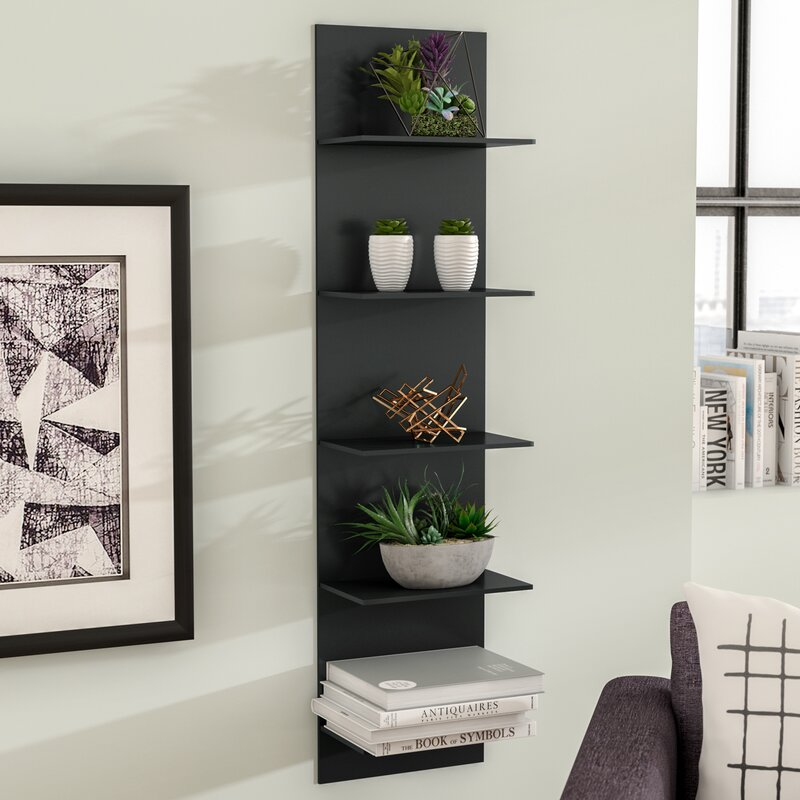 Wade Logan Molina Wide Column Wall Shelf Amp Reviews Wayfair