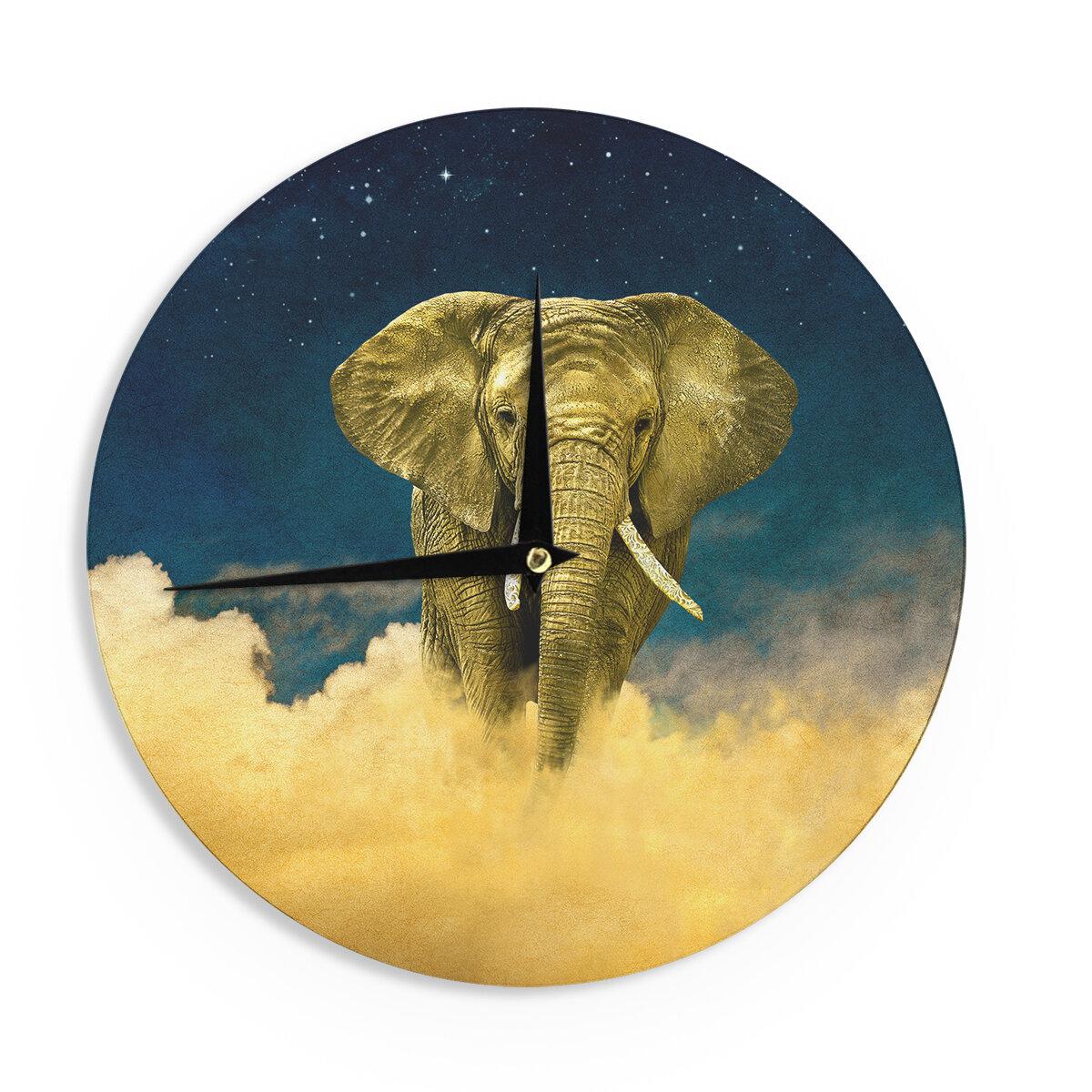 East Urban Home Nick Atkinson \'Celestial Elephant\' 12\