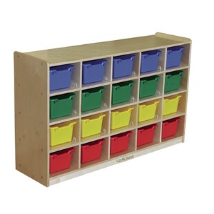 Coupon Portable 20 Compartment Cubby ByKids' Station