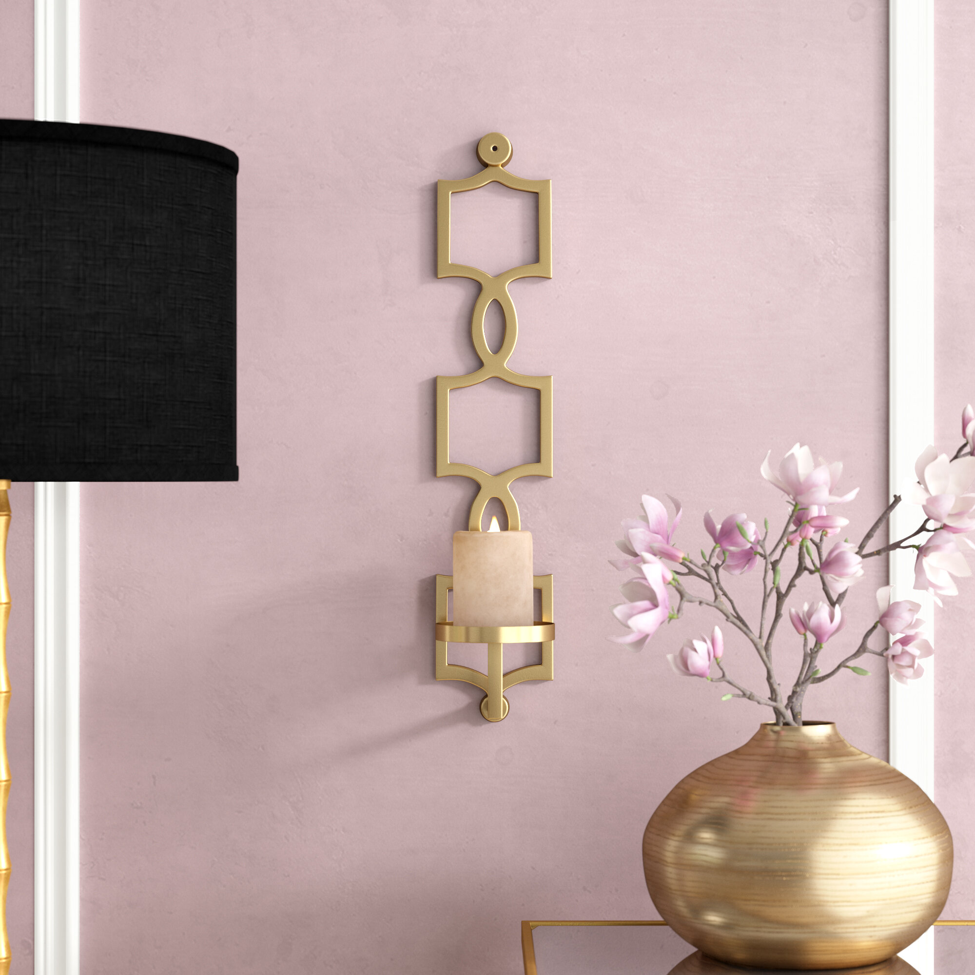 Gold Sconce Candle Holders You Ll Love In 2021 Wayfair