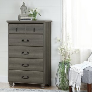 Haymeadow 5 Drawer Dresser by Three Posts