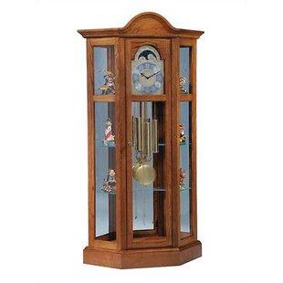 Traditional Richardson II Corner Curio Cabinet by Ridgeway Clocks