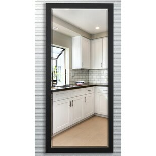 Darby Home Co Beveled Satin black Wall Mirror
