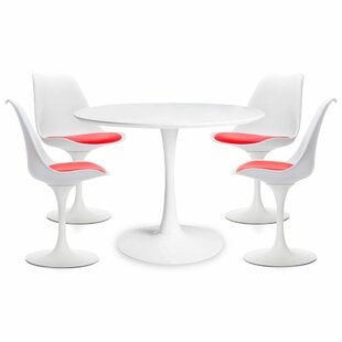 Guimond Rose 5 Piece Dining Set