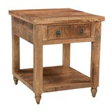 Kristen End Table with Storage by Loon Peak®