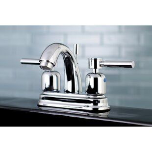 Kingston Brass Concord Centerset Bathroom Faucet with Drain Assembly