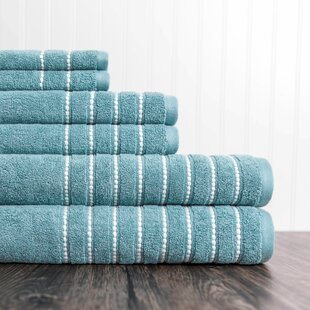 Christner 6 Piece 100% Cotton Towel Set by Mercury Row